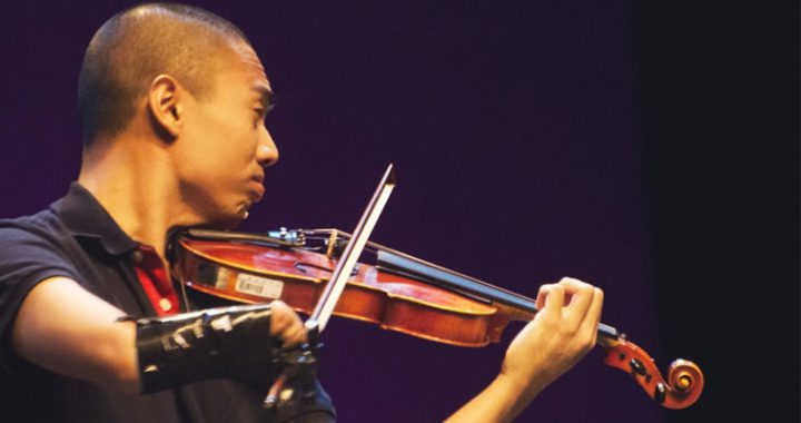 Adrian Anantawan, a Violinist Born without a Right Hand Man